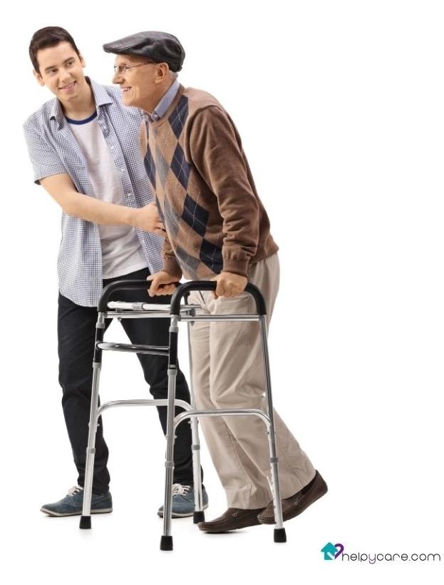 cuidador de mayores y dependientes