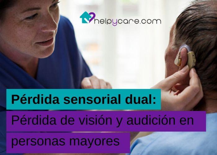 Pérdida de visión y audición en personas mayores