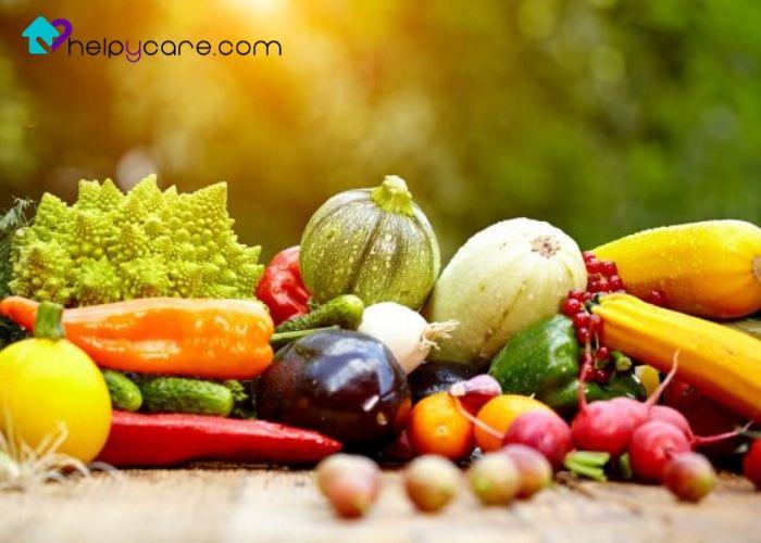 Alergia a frutas y verduras en personas mayores