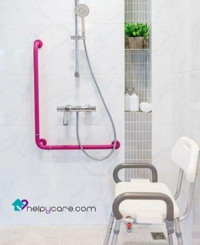 Cambios en la ducha para mayor seguridad para el anciano