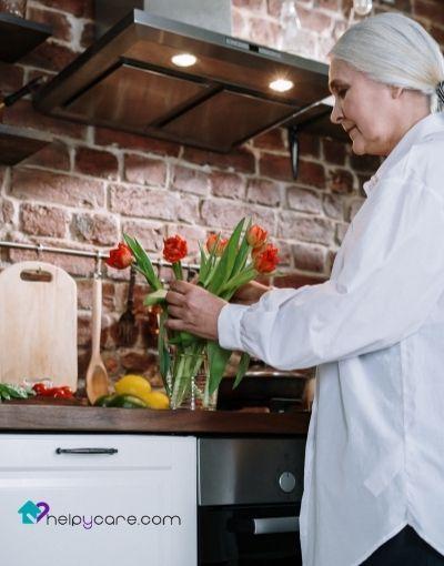 Cocina segura y accesible para ancianos