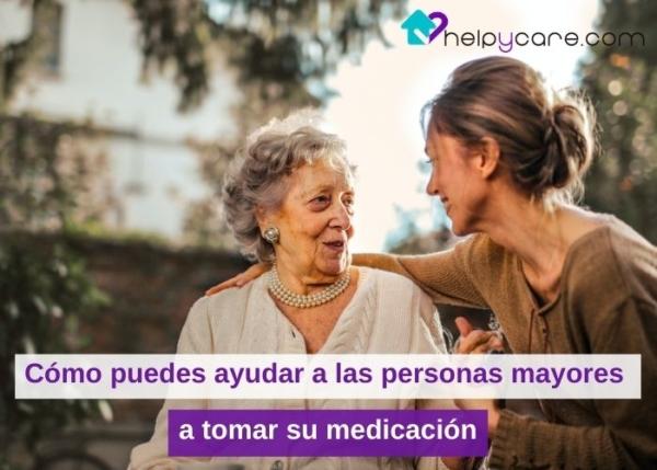 Cómo puedes ayudar a las personas mayores a tomar su medicación