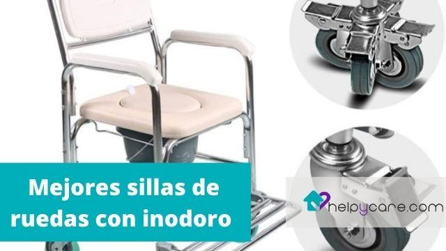 Mejores sillas de ruedas con inodoro