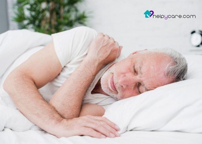 Buenos hábitos se sueño para personas mayores