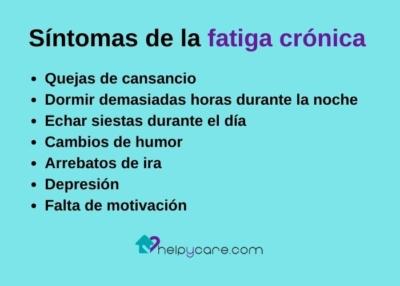 Síntomas de la fatiga crónica