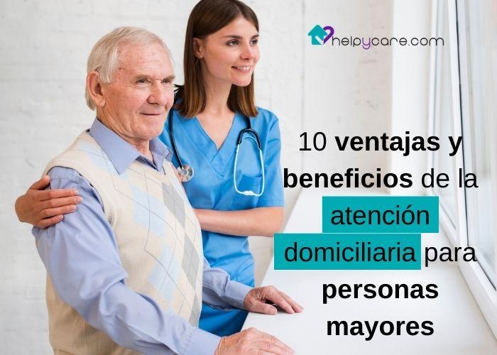 trabajo para cuidar personas mayores