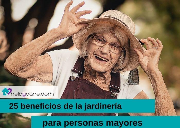 beneficios de jardinería para ancianos