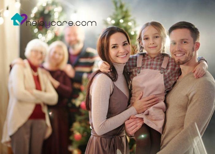 personas mayores y sus cuidados en familia