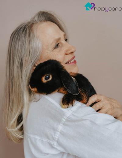 Tener una mascota en la tercera edad